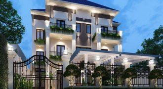 Biệt thự phong cách Châu Âu, hẻm 300 Nguyễn Văn Linh