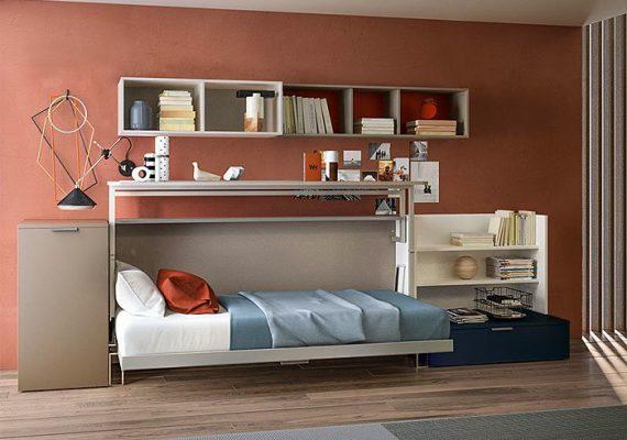 19 ý tưởng thiết kế giấu giường cho căn hộ có diện tích nhỏ